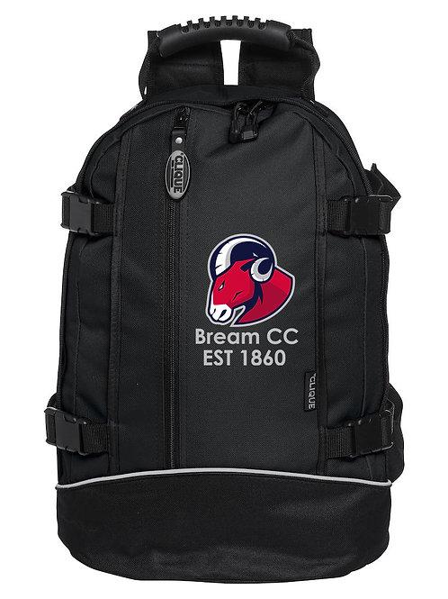 Back Pack (040207) - Black - Bream CC