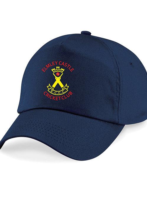 Baseball Style Cap - Navy - Elmley Castle
