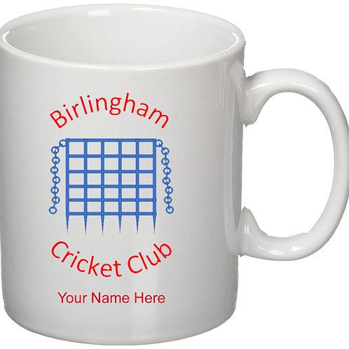 Mug (inc name) - Birlingham CC