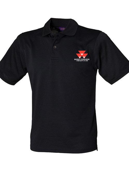 Polo Shirt (HB475) Black - Massey Ferguson CC