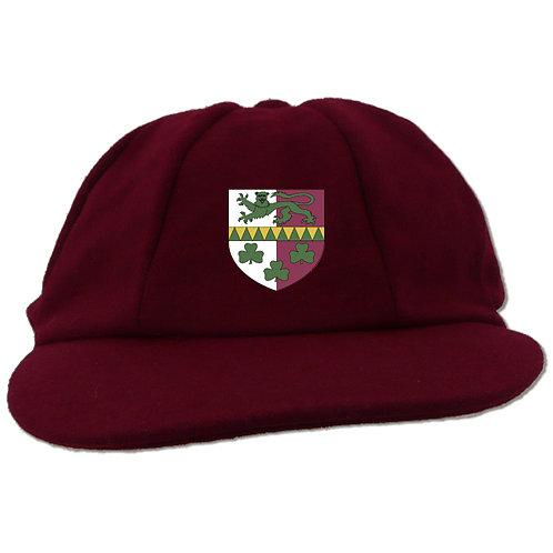 Traditional Cricket Cap - Maroon -Claverley CC