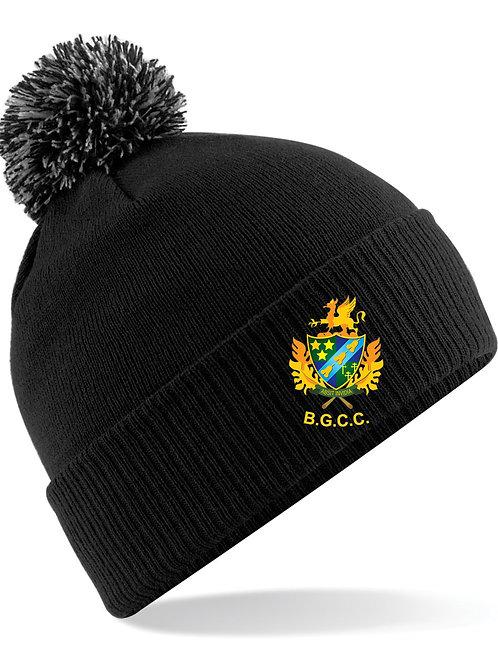 Ski Hat (B450) Black Barnt Green