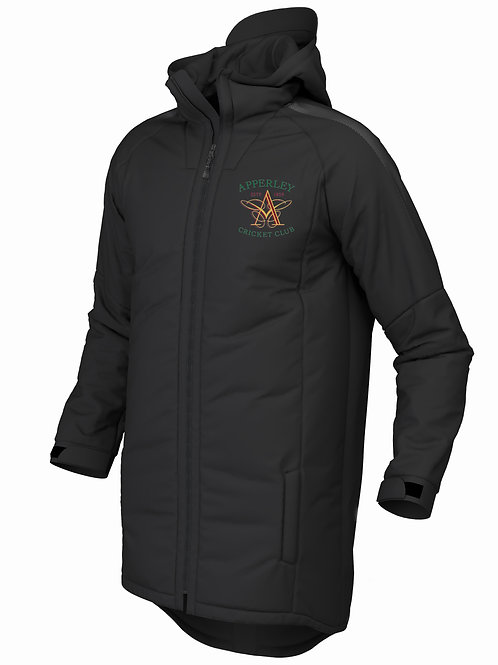 Pro 3/4 Coat (E894) Black - Apperley CC