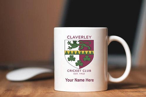 Mug (inc name) - Claverley CC
