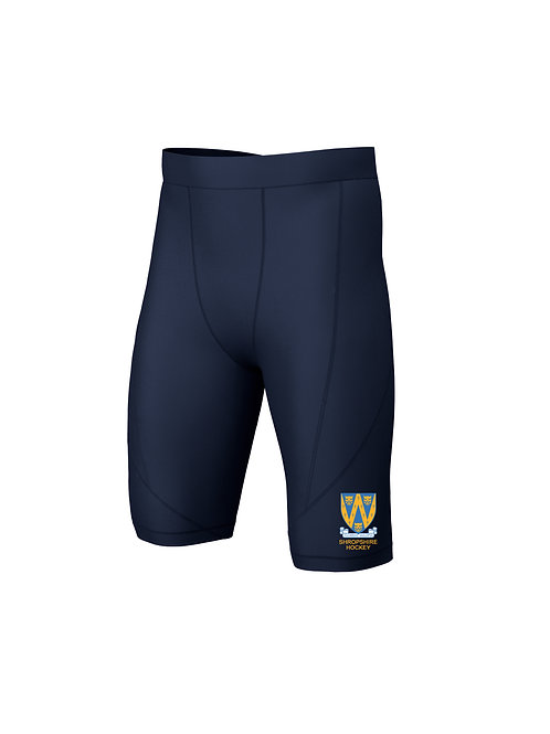 Base Layer Shorts (E382) Navy -Shropshire County Hockey