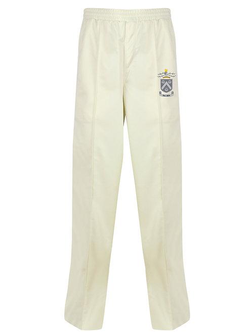 Cricket Trousers (H3) Cream - Hagley CC
