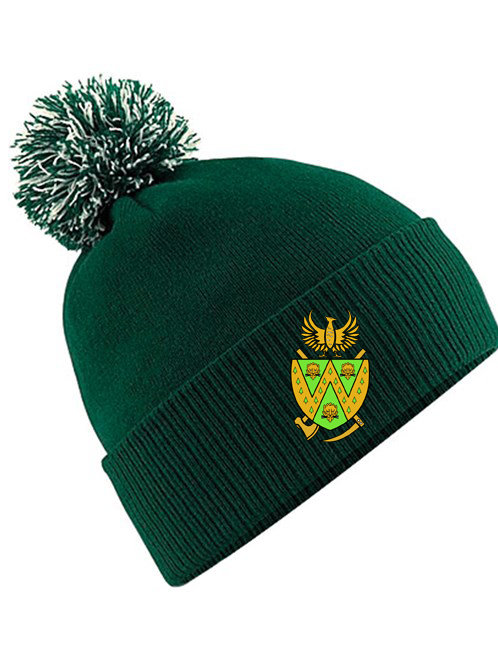 Bobble Hat - Green -Wem