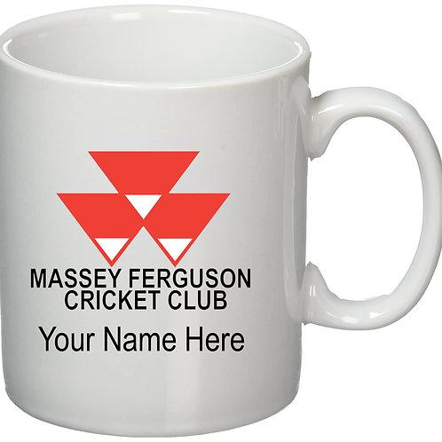 Mug (inc name) White - Massey Ferguson CC