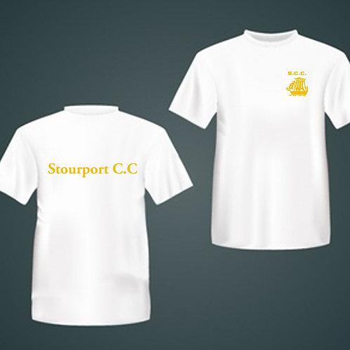 Tec - Tee (E787) White - Stourport CC
