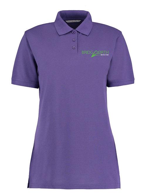 Polo Shirt Ladies, (KK703) Purple, Bridgnorth Tennis Club