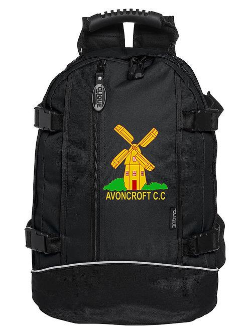 Back Pack (040207) - Black - Avoncroft