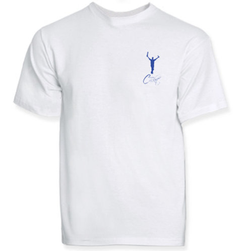 T Shirt (H787) White - Complete Cricket