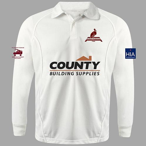 Cricket Shirt L/S Fillongley