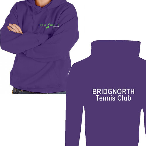 Hoodie, Senior (RK24) Purple, Bridgnorth Tennis Club