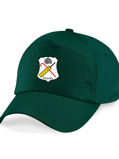 Baseball Style Cap -Green- Fossils