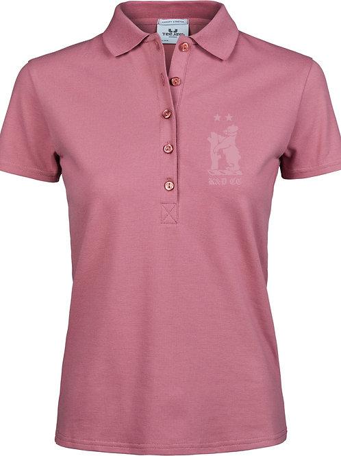 Ladies Polo Shirt (TJ145) Rose - Knowle & Dorridge