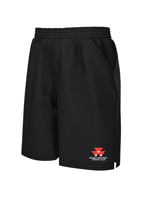 Shorts(H671) - Massey Ferguson - Black