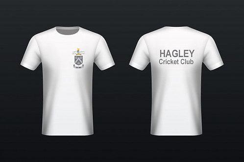 Tec - Tee (H787) White - Hagley CC
