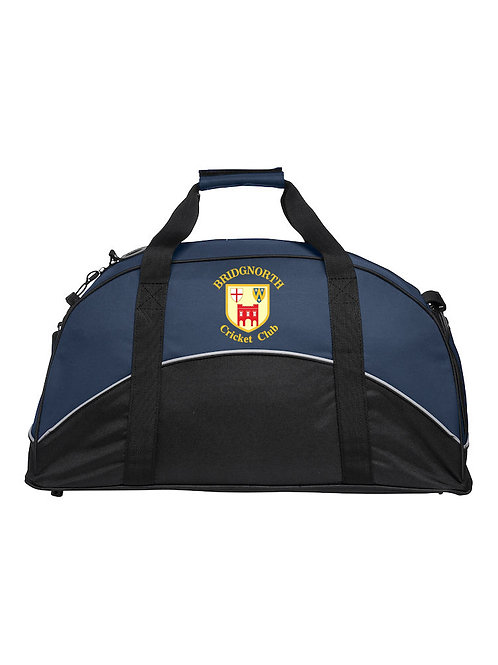 Match Day Holdall (040208) Navy/Black - Bridgnorth CC