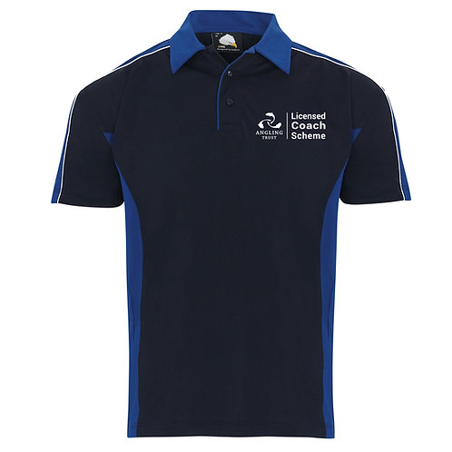 Polo Shirt Navy/Royal (H1198) Angling Trust