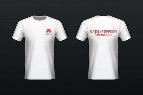 Tec - Tee (H787) - White - Massey Ferguson