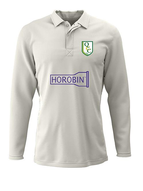 Cricket Shirt L/S (H2) - Cream - Quatt CC