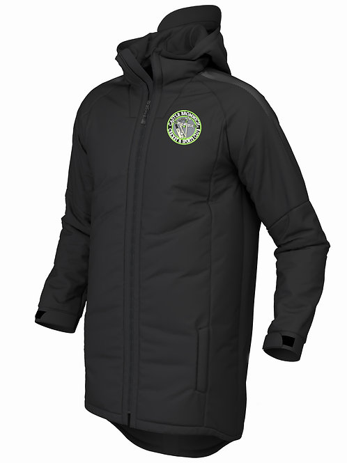 Pro 3/4 Coat (E894) Black - Castle Bromwich CC