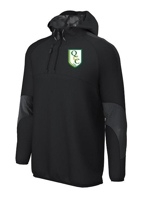 1/4 Zip Shell Jacket (E873) Black - Quatt CC
