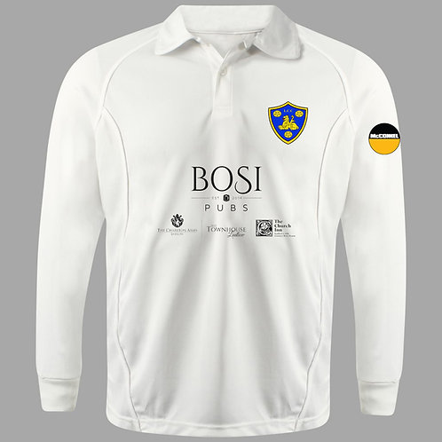 Cricket Shirt L/S, SENIOR H2 Ludlow