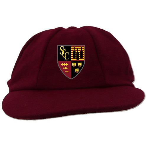 Traditional Cricket Cap - Maroon - Shifnal CC