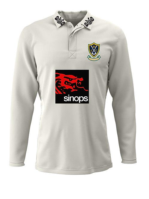 Cricket Shirt (H2) - Cream - Belbroughton CC