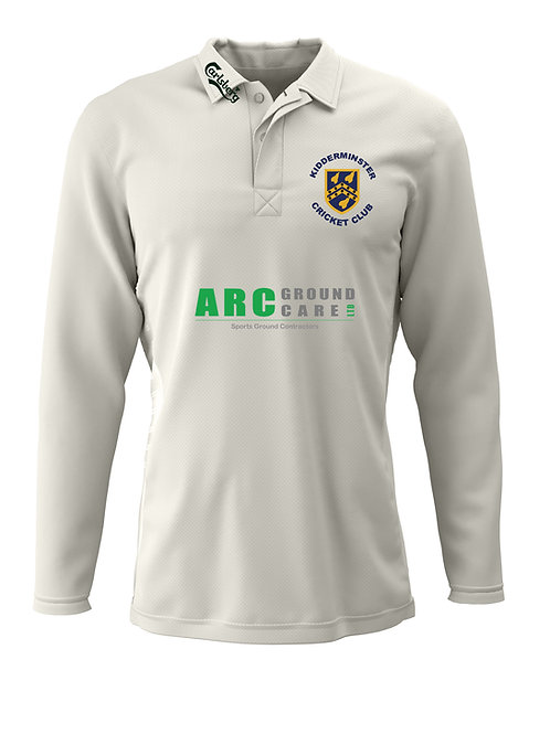 Cricket Shirt Long Sleeve (H2) Kidderminster