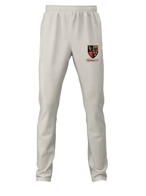 Cricket Trousers (H3) Cream - Shifnal CC