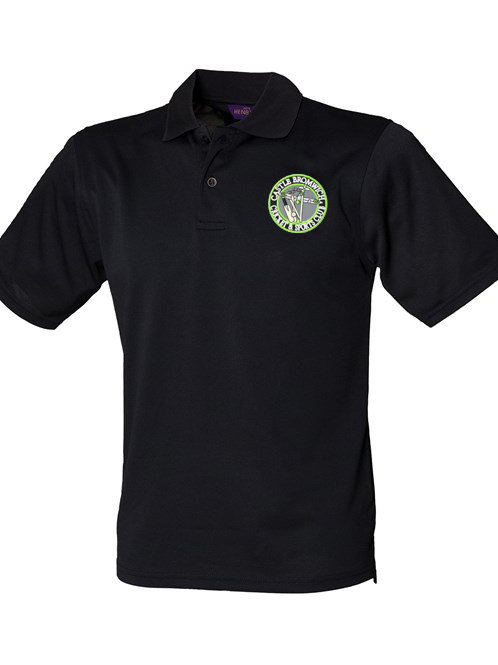 Polo Shirt (HB475) - Black - Castle Bromwich CC