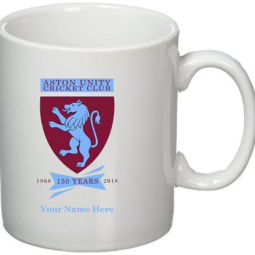 Mug (inc name) - Aston Unity