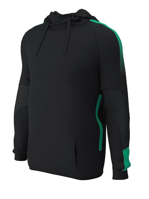 Hoodie E874(Black / Green)