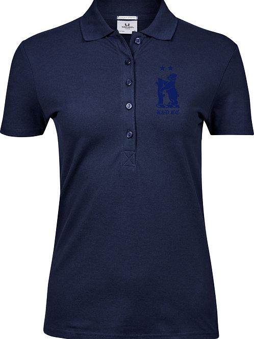 Ladies Polo Shirt (TJ145) Navy - Knowle & Dorridge