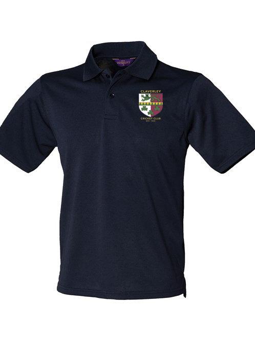 Polo Shirt (HB475) Navy - Claverley CC