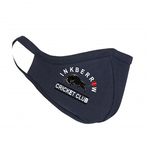 Face Mask - Navy - Inkberrow CC