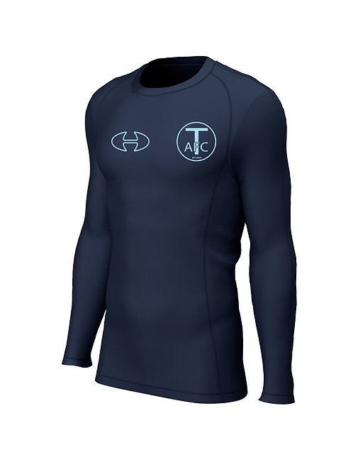 Base Layer Top L/S, (284) Navy - Trysull AFC