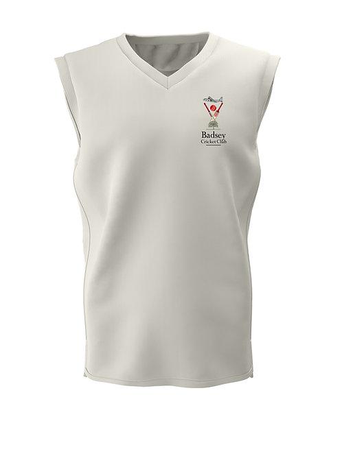 Cricket Slipover (C6) Cream - Badsey CC