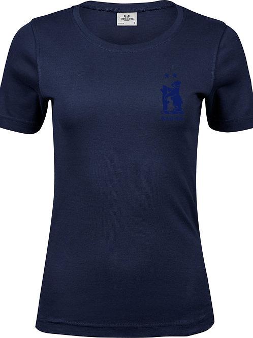 Ladies T-Shirt (TJ580 Navy - Knowle & Dorridge