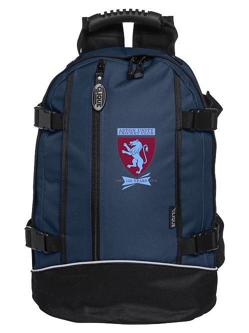 Back Pack (040207) Navy/Black - Aston Unity