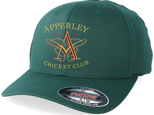 Flexi Fit Cap - Green - Apperley CC
