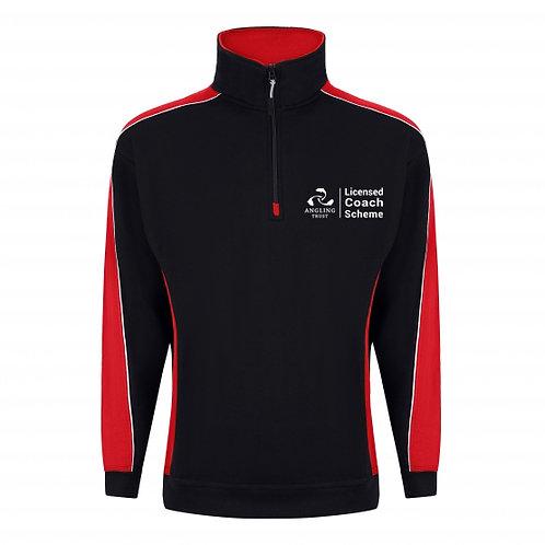 1/4 Zip Sweatshirt (H1288) Angling Trust