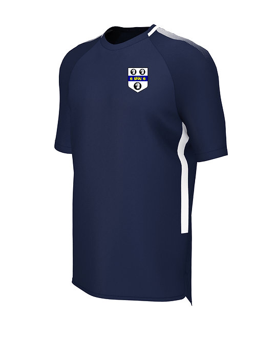 Training Tee (E865) Navy/White - Old Moseley Arms CC