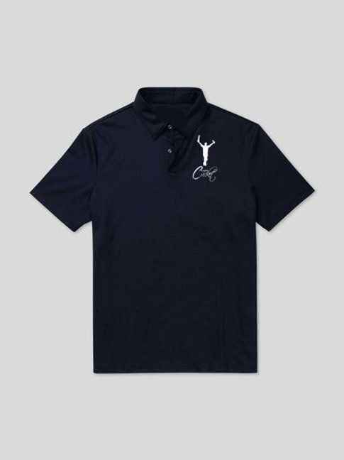 Polo Shirt HB475 -Navy -   Complete Cricket