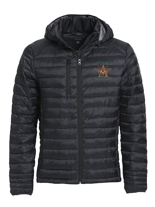 Padded Coat (020976) (Hudson) Black - Apperley