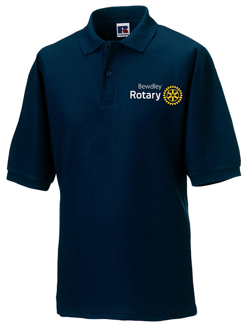 Polo Shirt - Male (539M) Navy Bewdley Rotary