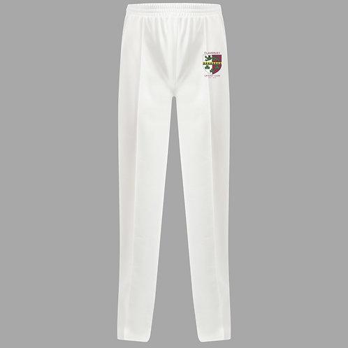 Cricket Trousers (H3) Cream - Claverley CC